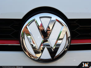 VW Front Badge Insert - Pure White