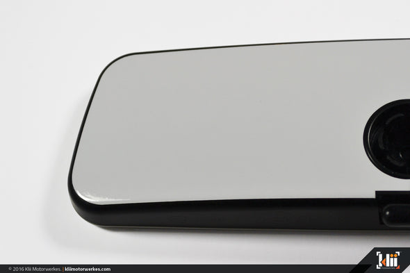 VW Rear View Mirror Overlay - Pure White