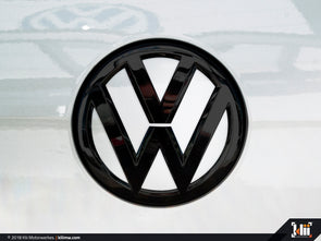 Klii Motorwerkes VW Rear Badge Insert - Oryx White Pearl
