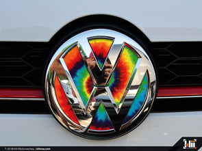 VW Front Badge Insert - Tie-Dye
