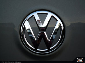 VW Rear Badge Insert - Carbon Steel Gray Metallic