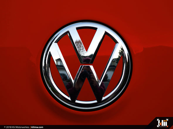 VW Rear Badge Insert - Tornado Red