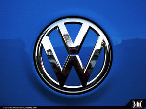 Klii Motorwerkes VW Rear Badge Insert - Rising Blue Metallic