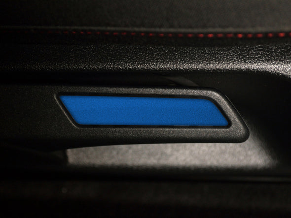 Seat Lever Inlay - Rising Blue Metallic
