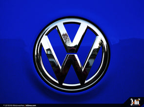 VW Rear Badge Insert - Deep Blue Pearl Metallic