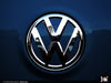 VW Rear Badge Insert - Shadow Blue Metallic