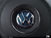 Klii Motorwerkes VW Steering Wheel Badge Insert - Shadow Blue Metallic