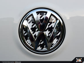 VW Rear Badge Insert - Houndstooth