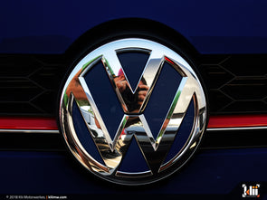VW Front Badge Insert - Night Blue Metallic