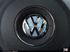 VW Steering Wheel Badge Insert - Shark Blue Metallic