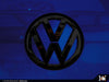 VW Rear Badge Insert - Lapiz Blue Metallic