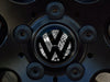 VW Center Cap Badge Insert Set - Stickerbomb Noir