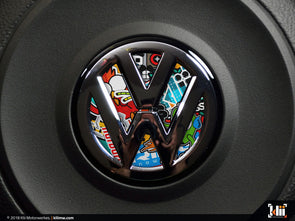 Klii Motorwerkes VW Steering Wheel Badge Insert - Stickerbomb