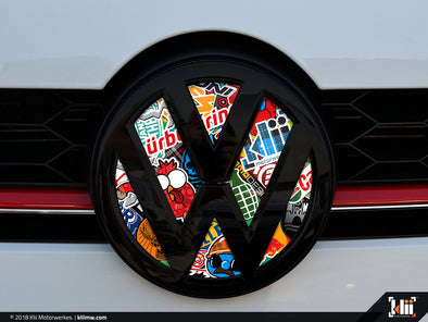 Klii Motorwerkes VW Front Badge Insert - Stickerbomb