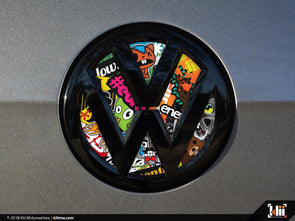 VW Rear Badge Insert - Stickerbomb