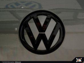 VW Rear Badge Insert - Limestone Gray Metallic
