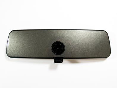 Klii Motorwerkes VW Rear View Mirror Overlay - Limestone Gray (Grey) Metallic (Golf R MkVII (Mk7) - 2015-Current)