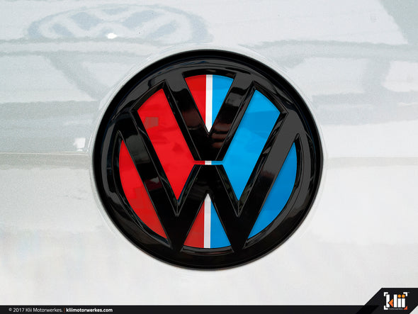 VW Rear Badge Insert - Racing Livery No.3