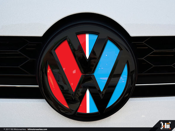 VW Front Badge Insert - Racing Livery No.3