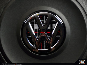 Klii Motorwerkes VW Steering Wheel Badge Insert - Mk6 GTI Plaid