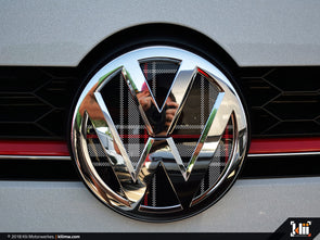 VW Front Badge Insert - Mk6 GTI Plaid