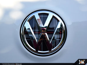 VW Rear Badge Insert - Mk6 GTI Plaid