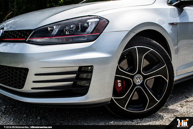 "VW ""Austin"" Wheel Overlay Kit - Gloss Black"