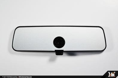 VW Rear View Mirror Overlay - Oryx White Pearl