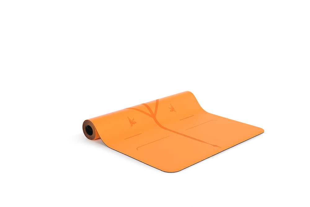 Liforme 'Expressions' Happiness Travel Mat 2mm 70in, Vibrant Orange