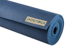 Jade Yoga Harmony Mat 4.8mm 80in, Extra Wide Extra Long, Midnight Blue