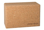 Jade Yoga Cork Block, Large