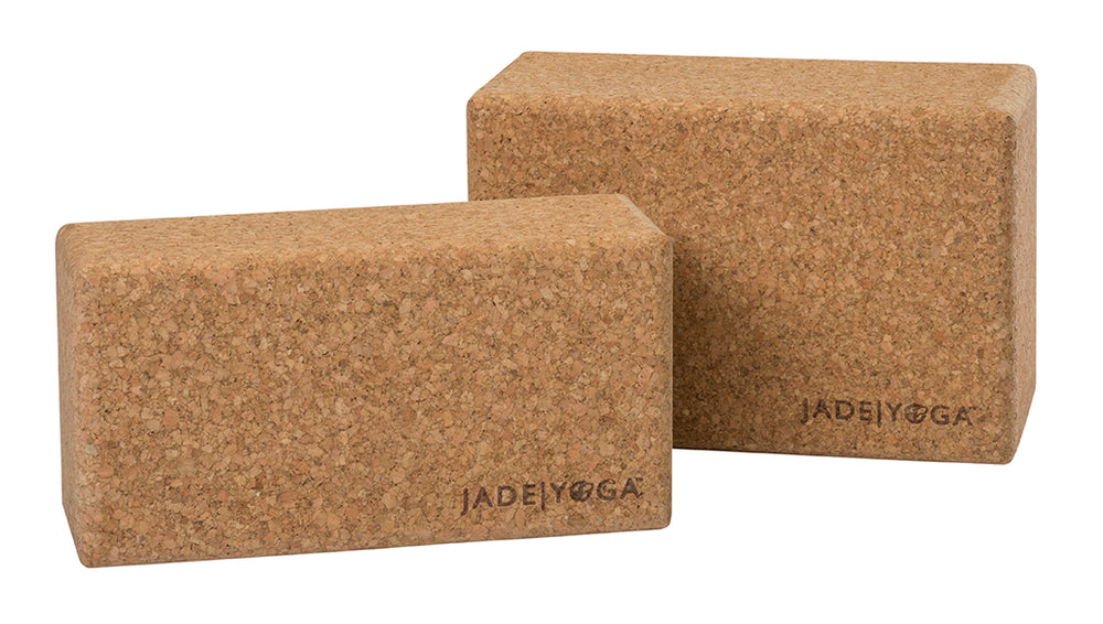 Cork Yoga Block, Large