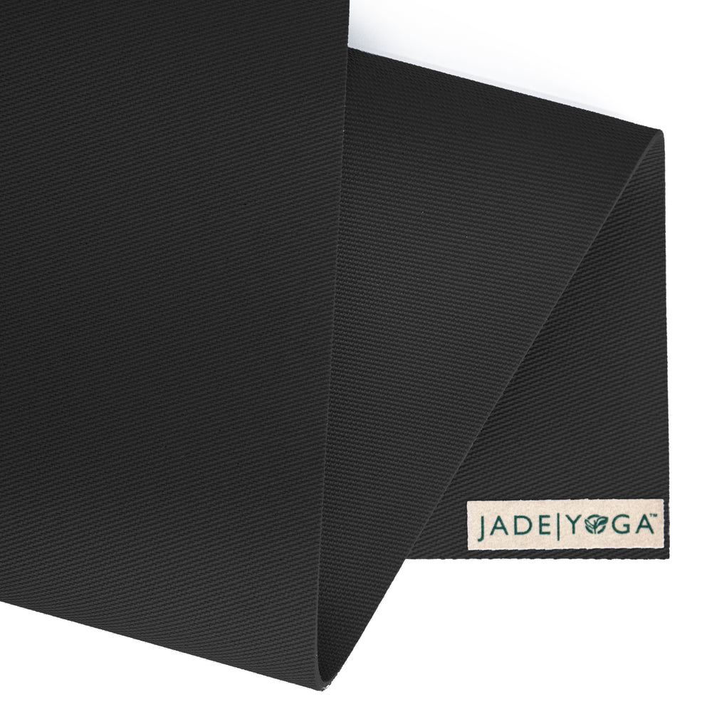 Jade Yoga Travel Mat 3mm 68in, Black