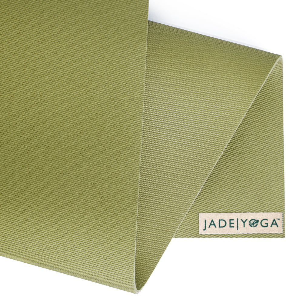 Jade Yoga Harmony Mat 4.8mm 68in, Olive Green