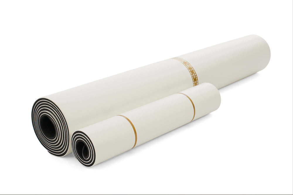 *IN STOCK* Text 96852848 'White Magic' Yoga Pad 4.2mm 13in, White/Gold