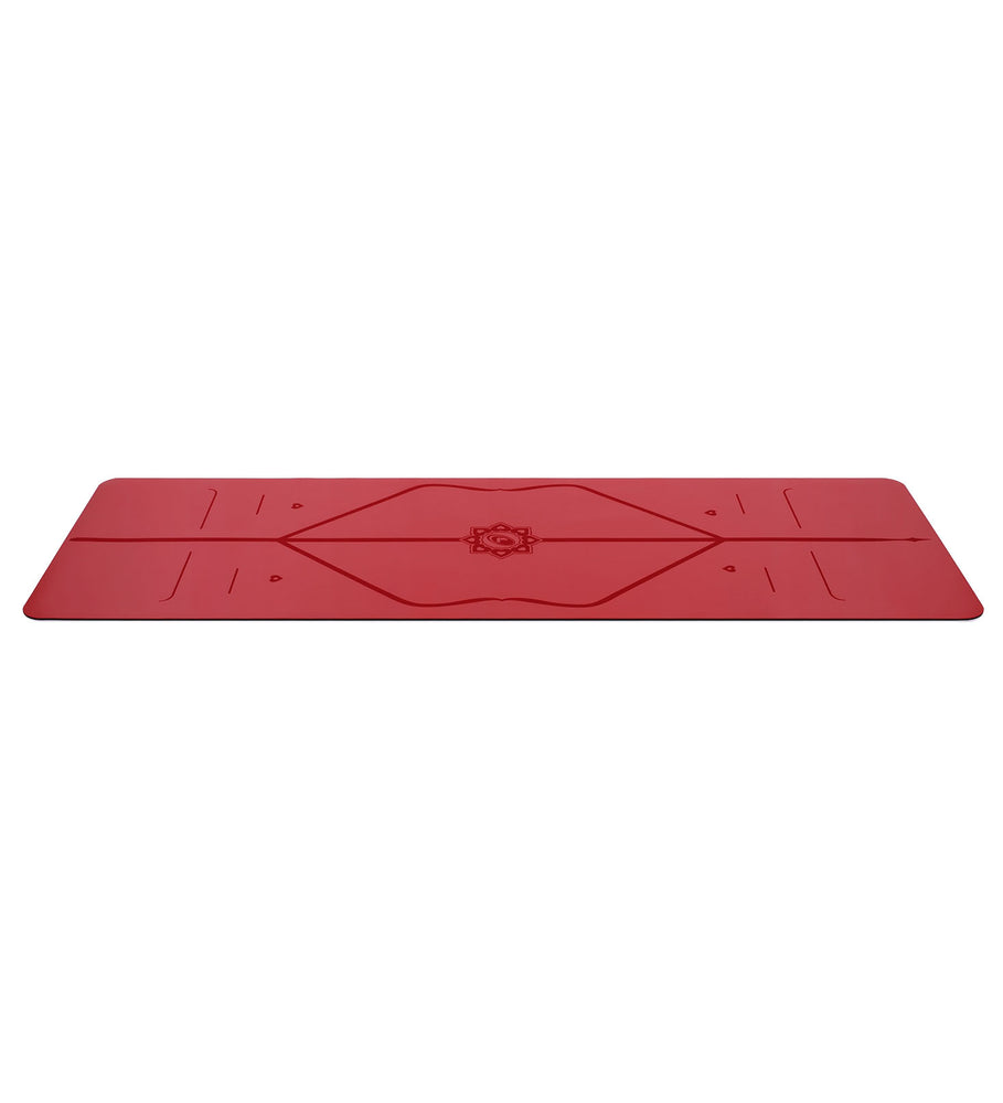 Liforme 'Expressions' Love Travel Mat 2mm 70in, Red