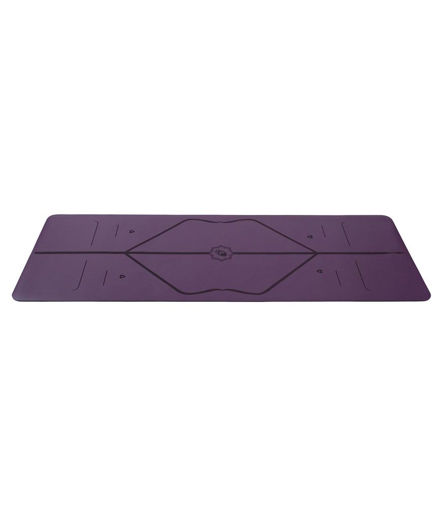 *AVAILABLE; Text 9685 2848* Liforme Travel Mat 2mm 71in, Purple Earth