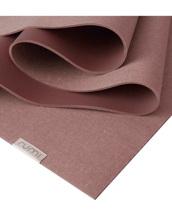 Sun Yoga Mat 4.3mm 71in, Maroon