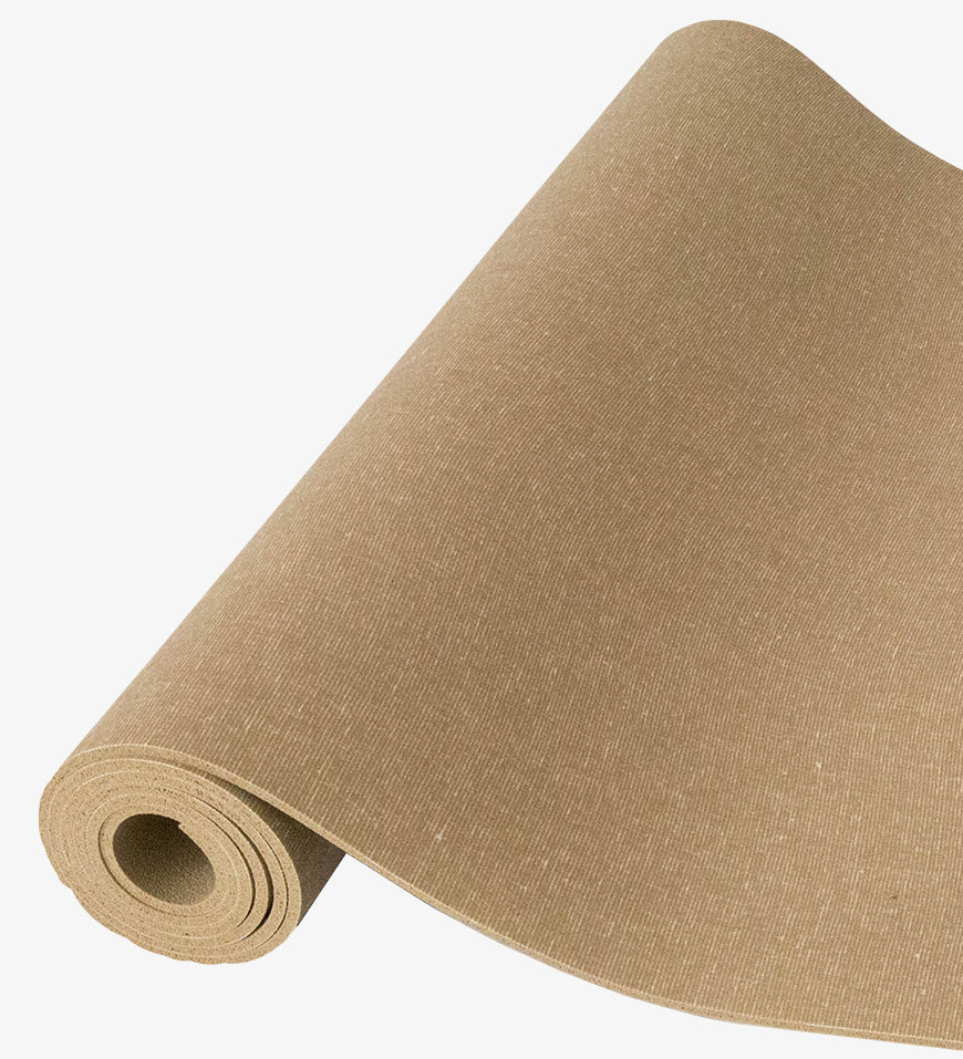 Sun Yoga Mat 4.3mm 71in, Sand