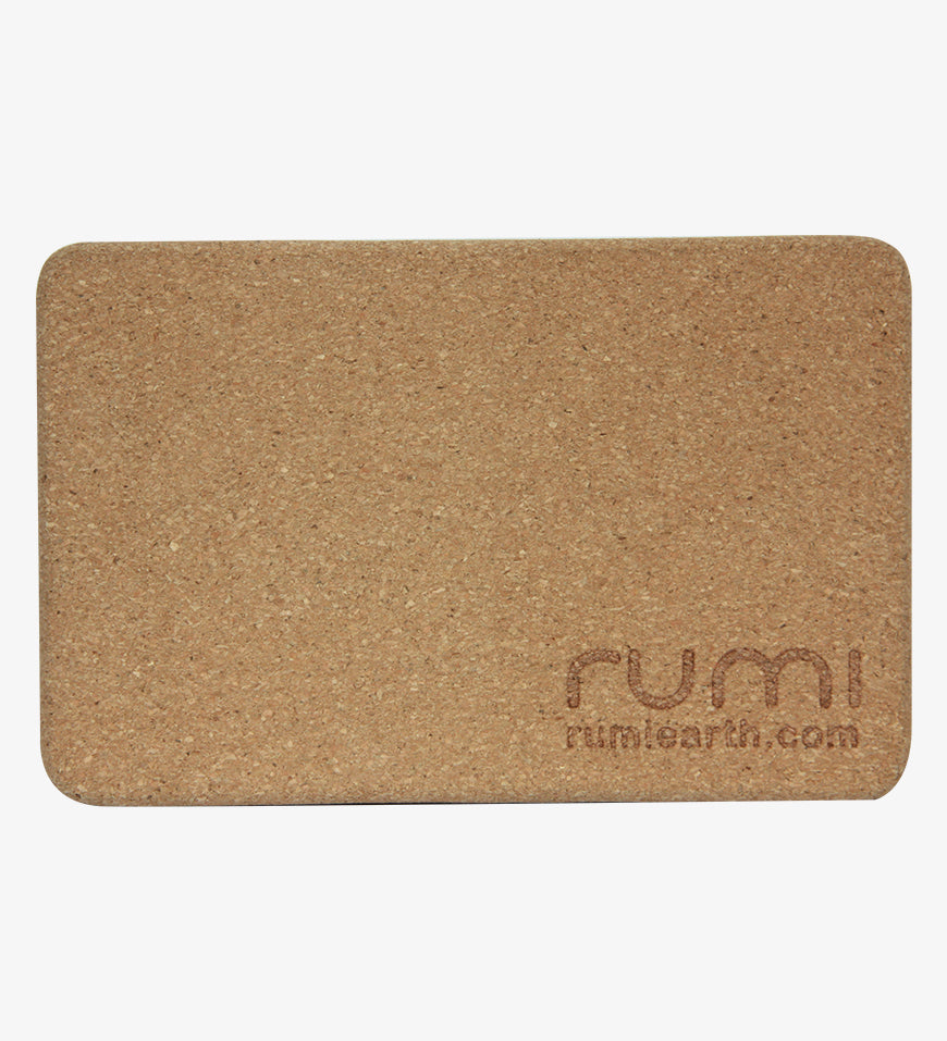 Rumi Earth Yoga Block - Cork