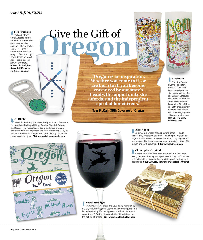 Oregon Wine Press Feature