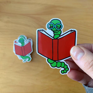 Our first stickers are here!