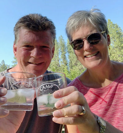 Customer Story: Camp Shannon glasses for a Cabin Upgrade