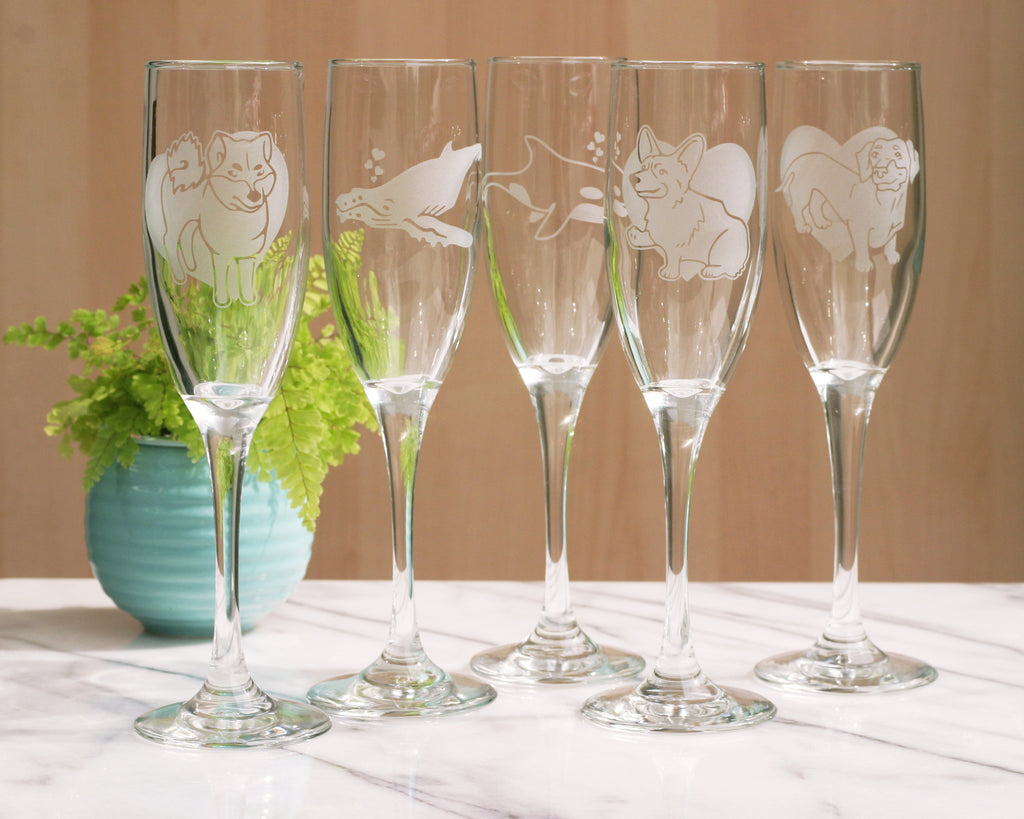 CLEARANCE SALE! 25-60% off Stemware & Shot Glasses