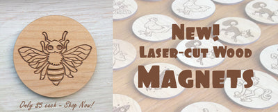 Product of the Week: Wooden Magnets