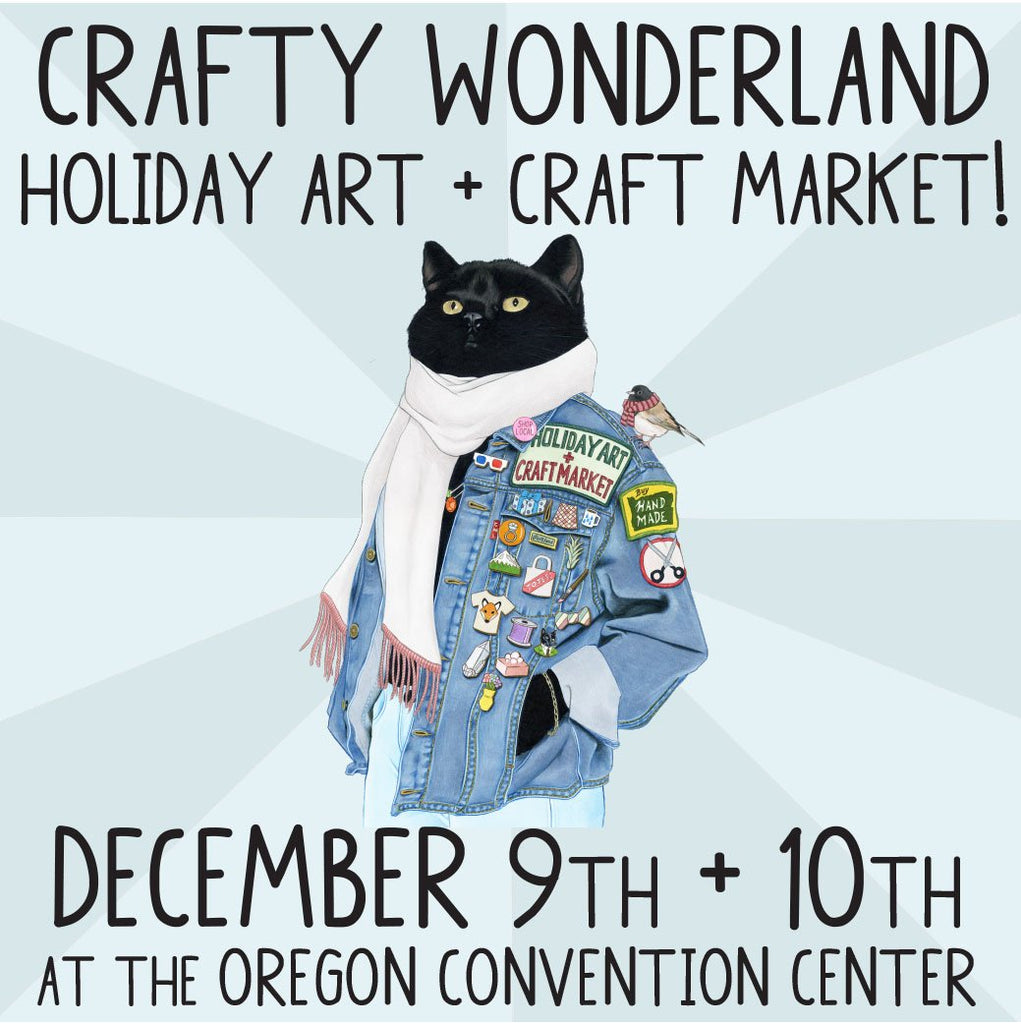 Shop in Portland at Crafty Wonderland This Weekend