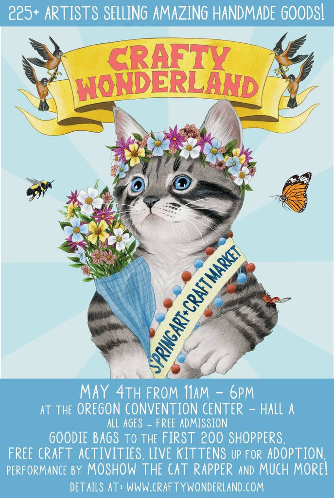 Crafty Wonderland's Spring Art + Craft Market