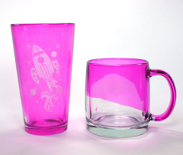 pink cup samples