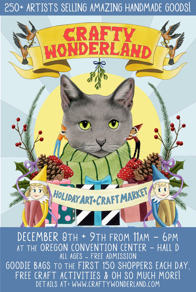 Crafty Wonderland Holiday Art + Craft Market