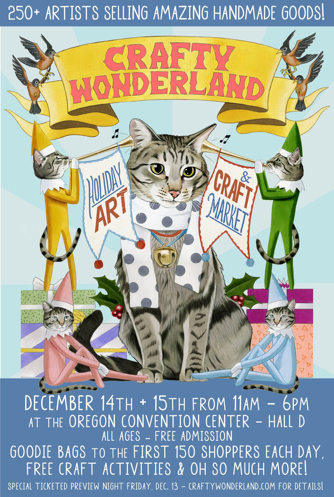 Crafty Wonderland's holiday craft fair
